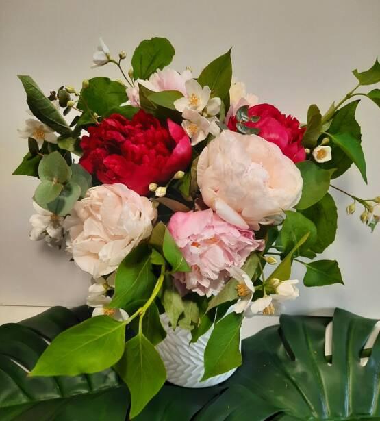 bouquet-rouge-pivoine-fleuriste-caen